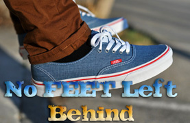 No Feet Left Behind-Your Chance to Get Involved