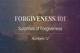 Forgiveness 101:  Surprises of Forgiveness (August 27, 2017)